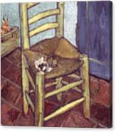 Van Gogh: Chair, 1888-89 Canvas Print