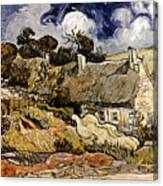 Van Gogh: Cordeville, 1890 Canvas Print