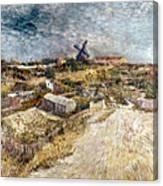Van Gogh: Gardens, 1887 Canvas Print