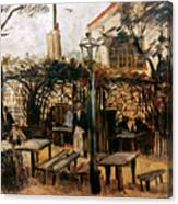Van Gogh: Guingette, 1886 Canvas Print