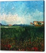 Van Gogh: Landscape, 1888 Canvas Print