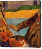 Van Gogh Painting Sunflowers 1888 Canvas Print
