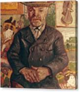 Van Gogh: Pere Tanguy, 1887 Canvas Print
