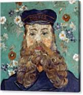 Van Gogh: Postman, 1889 Canvas Print