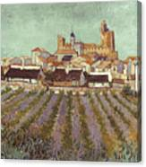Van Gogh: Saintes-maries Canvas Print