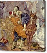 Van Gogh: Samaritan, 1890 Canvas Print