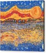 Van Gogh Skies Canvas Print