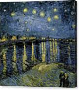Van Gogh, Starry Night Canvas Print