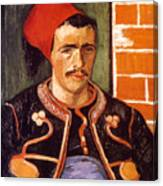 Van Gogh: The Zouave, 1888 Canvas Print