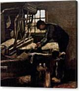 Van Gogh: Weaver, 1884 Canvas Print