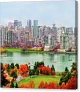 Vancouver After The Rain Canvas Print