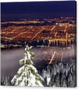 Vancouver City View Canvas Print