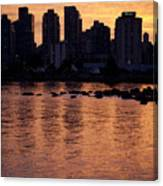 Vancouver From Stanley Park I Canvas Print