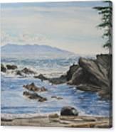 Vancouver Island Canvas Print