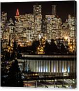 Vancouver Lights Canvas Print