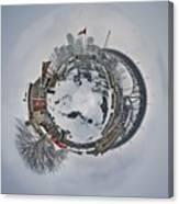 Vancouver Winter Planet Canvas Print