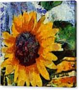 Vangogh Sunny Canvas Print