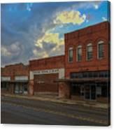 #vanishingtexas Street Scene - Rosebud Texas Canvas Print
