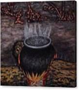 Vapeur Canvas Print