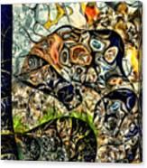 variation of Kardinsky Canvas Print