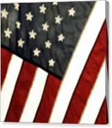 Variations On Old Glory No.4 Canvas Print