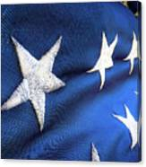 Variations On Old Glory No.5 Canvas Print