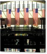 Variations On Old Glory No.8 Canvas Print