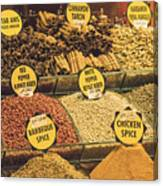 Various Spices Canvas Print