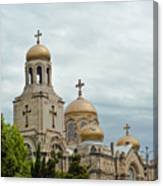 Varna Cathedral,bulgaria Canvas Print