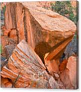 Varnished Boulders Canvas Print