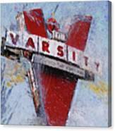Varsity Drive-in Atlanta Canvas Print