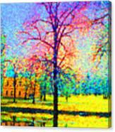 Vasaparken Before Winter Canvas Print