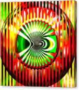 Vasarely Universe Canvas Print