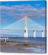 Vasco Da Gama Bridge Canvas Print