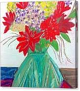 Vase Canvas Print