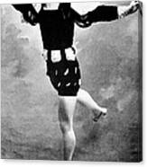 Vaslav Nijinsky, Ballet Dancer Canvas Print