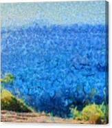 Vast Expanse Of The Ocean Canvas Print
