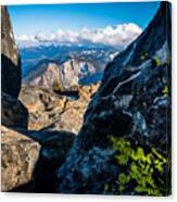 Vastly Majestic High Sierras Canvas Print