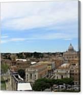 Vatican General View Canvas Print