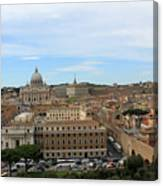 Vatican In Spring Canvas Print