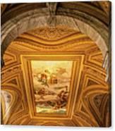 Vatican Museum Painted Ceiling Canvas Print