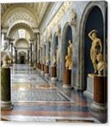 Vatican Museums Interiors Canvas Print