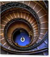 Vatican Staircase Canvas Print