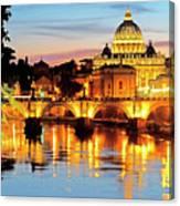 Vatican's St. Peter's Canvas Print