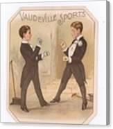 Vaudville Sports Canvas Print