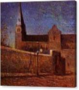 Vaugirard Church 1879 Canvas Print