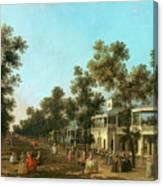 Vauxhall Gardens The Grand Walk Canvas Print