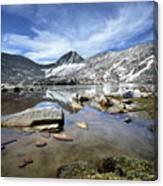 Vee Lake - Sierra Canvas Print