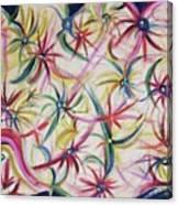 Vegas Bouquet Canvas Print