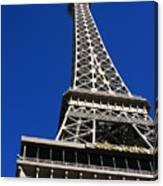 Vegas Eiffell Tower Canvas Print